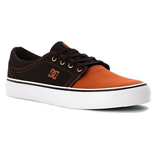 Dc Mens Trase Tx Unisex Skate Schoen Zwart / Zwart / Bruin