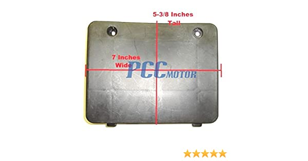 Battery Box Cover 49cc 50cc GY6 Chinese Scooter Jonway Sunny