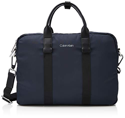 Borsa per Nero Borse uomo blu laptop scuro Klein 1 per per laptop G rinforzata Calvin rrpqRwd
