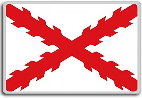 Cruz de Borgoña Bandera (150–1785), Histórico Banderas de España Imán para nevera