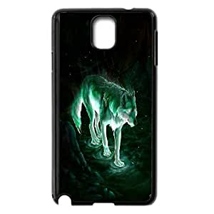 Unique Phone Case Pattern 11Wolf,Wolves and Moon Pattern- For Samsung Galaxy NOTE4 Case Cover