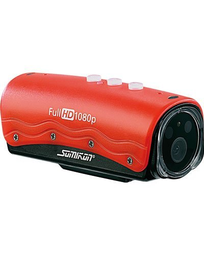 Somikon Full HD-Action-Cam mit 1080p-Auflösung DV-82.aqua