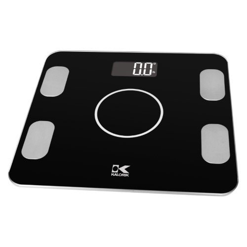Price comparison product image Kalorik electronic bathroom scale with body analyzer + Bluetooth function