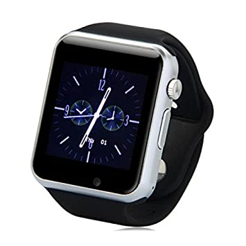 Original A1/W8 Smartwatch Smartwatch Android negro: Amazon ...