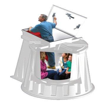 Granger Plastics In-ground Tornado Shelter (Best Underground Storm Shelter)