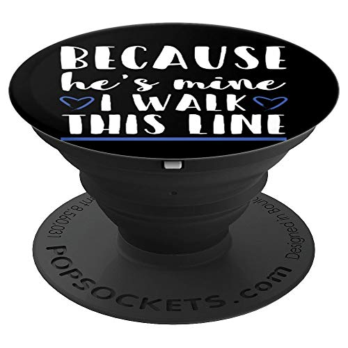 Thin Blue Line Family Relationship - PopSockets Grip and Stand for Phones and Tablets