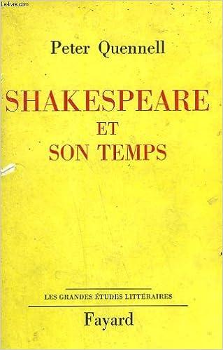 Livre Shakespeare et son temps. pdf, epub