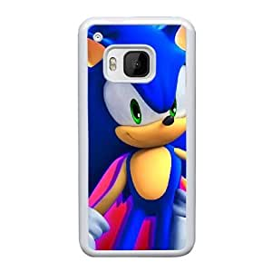 HTC One M9 Cell Phone Case White Sonic And Shadow The Hedgehog AS7YD3563240