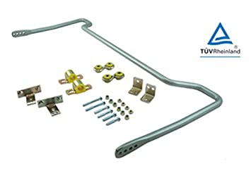 Whiteline 24 mm trasera anti-roll Bar Kit (ajustable) Opel Astra H VXR