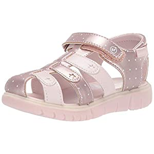 Stride Rite baby-girls Olive Sandal , pink 6.5 W US Toddler