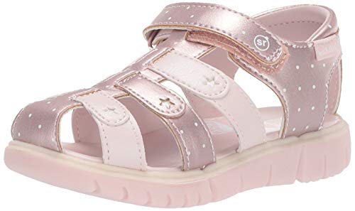 Stride Rite baby-girls  Olive Sandal , pink 9.5 M US Toddler