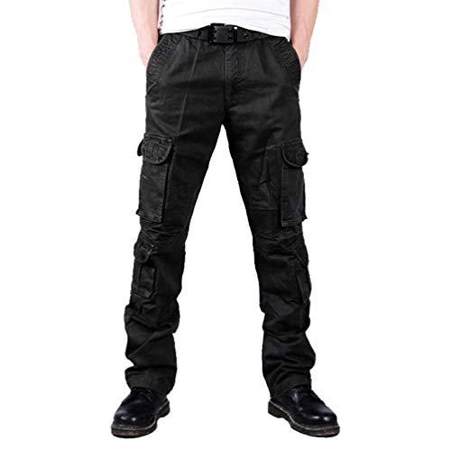 Molte Lavoro Sport Tasche Mimetici Larghi Primavera Moda Da Skinny Nero Uomo Pantaloni Jogging Autunno Cargo Casual xzOpH