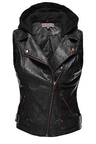 Black Moto Vest - 4