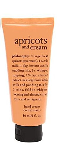 Philosophy apricots and cream hand cream 30 ml/1 - Apricot Lotion
