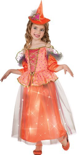 [Light Up Sweetheart Witch Costume, Large] (Girls Light Up Witch Costume)