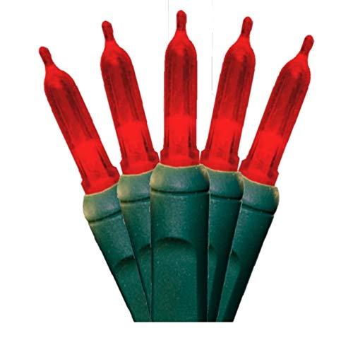 Red Led Christmas Light Strings in US - 5