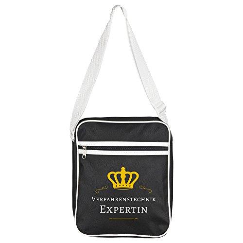 Retro Expert Black Shoulder Bag Technology Process ZpZ4rx