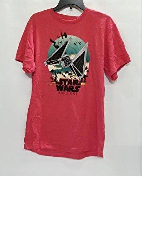 Tie Fighter Flight - Star Wars Rogue One Tie Fighter Flight Kids T-Shirt, Red, XL