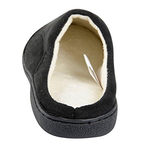 EGO - Zapatillas de estar por casa para hombre Negro - negro