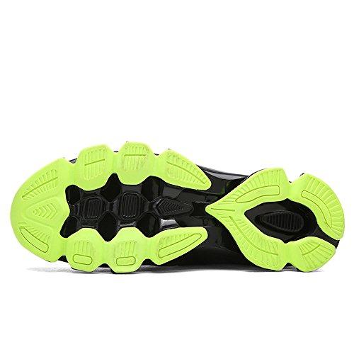 Uomo Rosso Basse Scarpe Nero Sneakers 38 Running Ginnastica 45 Basket Donna Verde Sportive Da wnEEvAagq