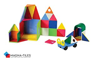 Magna-Tiles®, Magnetic 48 PC Solid Colors DX Set - Item #02148