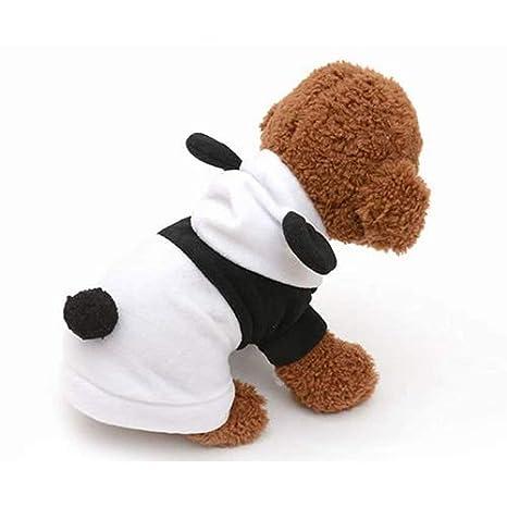 QNMM Traje De Panda De Perro Mascota Vestido De Una Sola ...