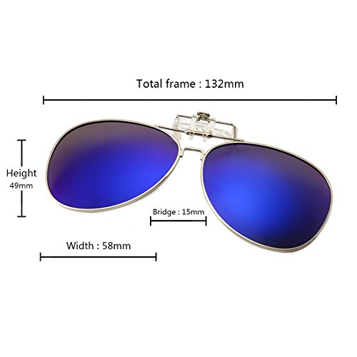 de deportes gafas sol Azul para de Huicai al sol Gafas abatibles libre aire polarizadas en Oscuro qxwYqBvUX