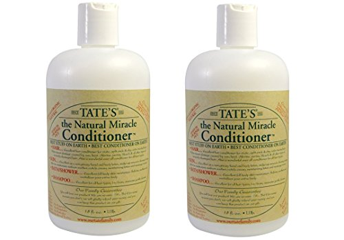 Tates Miracle Conditioner - Tates The Natural Miracle Tate's Natural Miracle Conditioner - 18 fl oz (Set of 2)