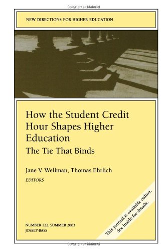 How the Student Credit Hour Shapes Higher Education: The Tie That Binds: New Directions for Higher Education, Number 122 (J-B HE Single Issue Higher Education)