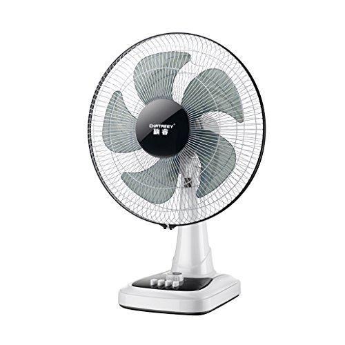 Fan MMM- Electric pedestal/floor/desk Vertical timing 1 hour/Five leaf blades/Mechanical control Adjustable three gear Wind speed pivoting Apply to Household office restaurant,4266cm by Fan