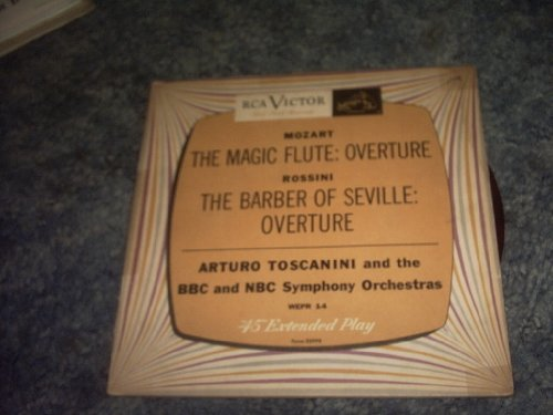 (THE Magic Flute and Barber of Seville Ep 45 Rpm Record)