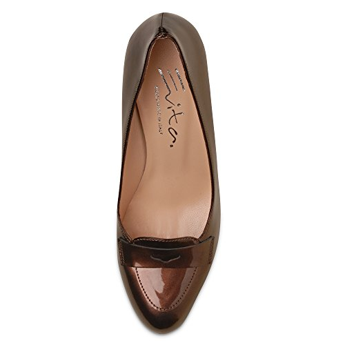 Damen Pumps falta Brown - Bronze