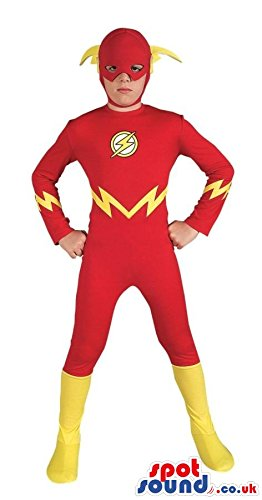 Children's Flash Gordon Costume (Cute Flash Gordon Super Hero Character Children Size Costume)