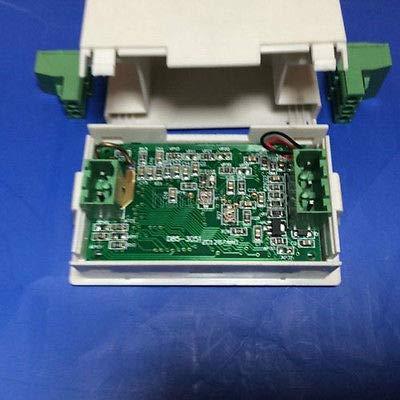 FidgetFidget Ammeter DC 0-200v 10A Voltmeter LCD Panel Amp Digital Volt Gauge Meter 12V Shun