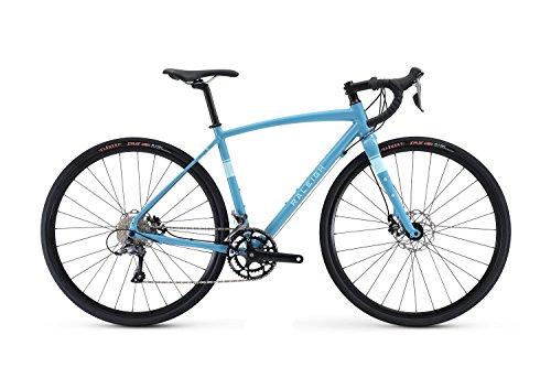 Raleigh Bikes Women's Amelia 1 Gravel Adventure Road Bike, 52cm/Medium, Blue