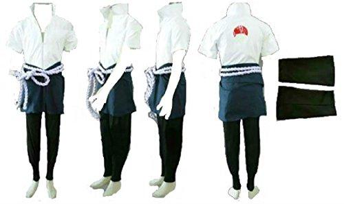 Naruto 4th Uchiha Sasuke cosplay costume