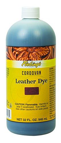 Cordovan Accessories (Fiebing's Leather Dye, Cordovan, 1 quart)