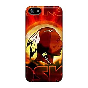 Hot Fashion EwM7317dFXr Design Cases Covers For Iphone 5/5s Protective Cases (washington Redskins)