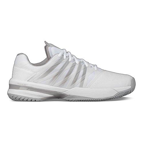 Zapatillas De Tenis K-swiss Mujeres Ultrashot Blancas / De Gran Altura