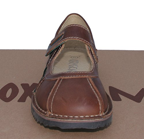 Tan Leather Shoe Oxygen Down Stitch Rostock wpqZxfCg