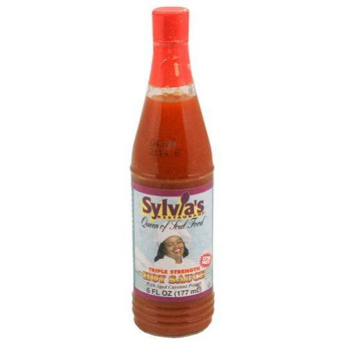 Sylvia Sauce, Triple Hot, 6-Ounce (Pack of 24)