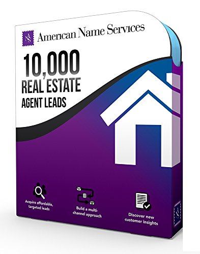 ANS 10,000 Real Estate Agent Contact Mailing List | Best Database Leads On The Market | B2B Marketing Data Software | Clean Data For Market