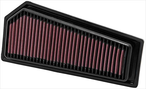 K&N engine air filter, washable and reusable:  2009-2015 Mercedes L4 (SLK200, SLK250, C180, C250, E200, E250) 33-2965