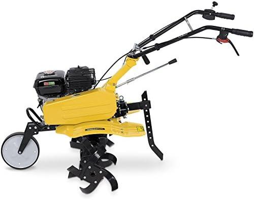 POWERPLUS POWXG7217 - Motocultor 208cc + arado: Amazon.es ...
