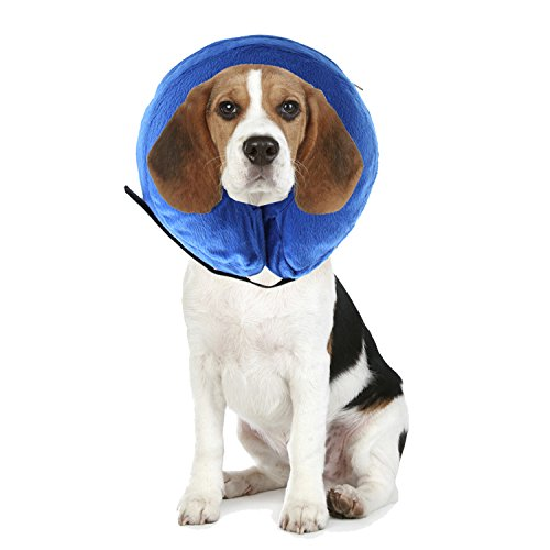 AnnaEye ProCollar Pet E-Collar for Dogs and Cats - Comfortable Recovery Collar is Inflatable and Does Not Block Vision - Procollar Inflatable