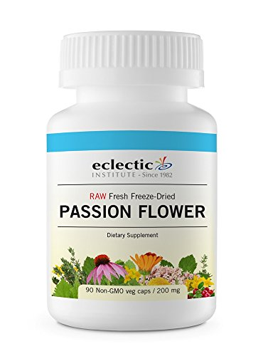 Eclectic Passion Flower Cog Freeze Dried Vegetables, Blue, 90 Count Eclectic Institute Passion Flower