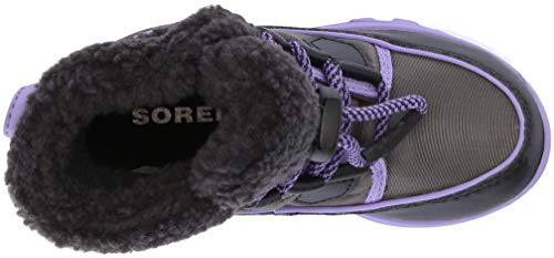 Unisexes CARNIVAL Enfant Gris Bottes Sorel Foncé Purple Violet CHILDRENS WHITNEY Paisley BxEwH7HqA