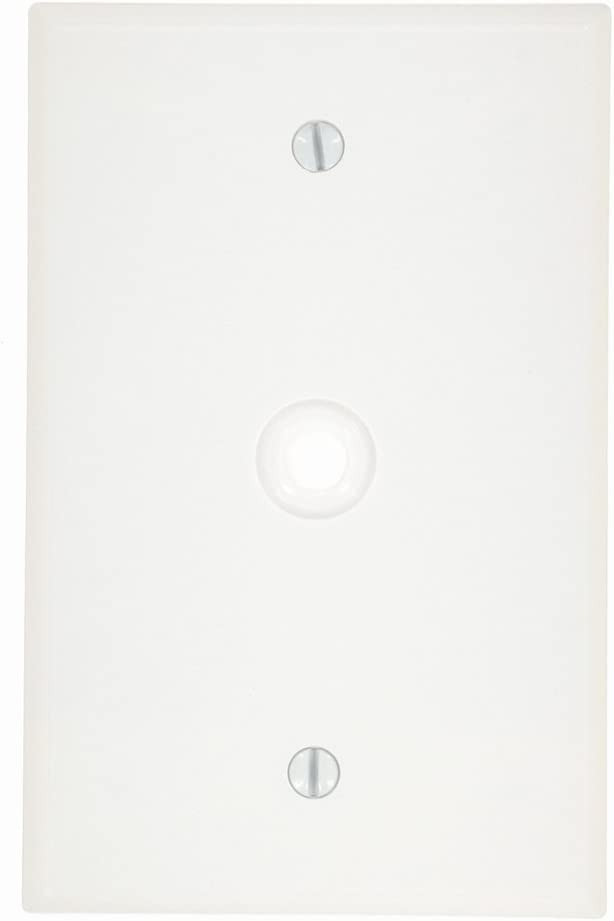 Leviton 80516-I 2 Duplex Midway Size Wall Plate 1 Gang Smooth Ivory 4-7//8 In L X 3-1//4 In W 0.255 In T