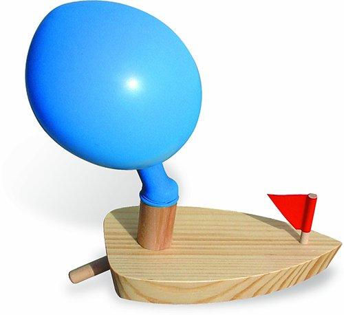 Vilac - 2906 - Jeux et Jouets en Bois - Bateau ballon