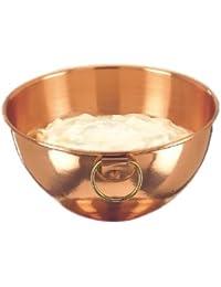Bargain 81/4 In. Diameter Solid Copper Beating Bowl, 2 Qt. saleoff